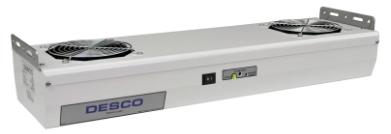 60467 - Ionizador Tipo Luminária com 2 Ventiladores